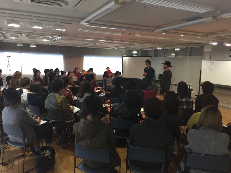 ハイパフォーマー美容師2人による、ジョイントGIGティーチインが、各地のプロの美容師さんを集めて、11月9日(月)、静岡県浜松で開催