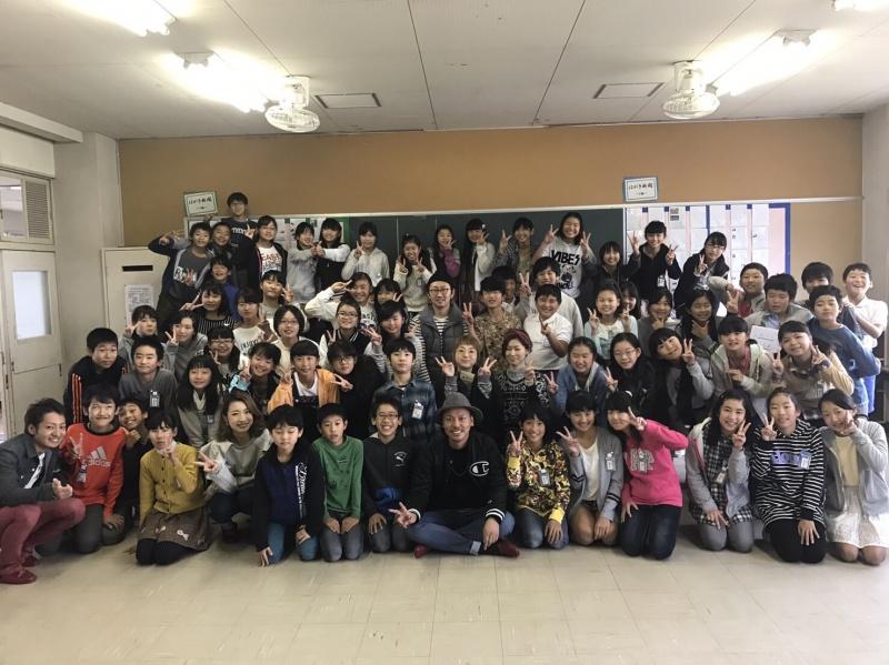 今年で、6年目。新蟹江小学校で、「美容師」という、職業を語る、出前授業に行ってきました。